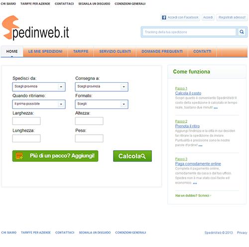 Spedinweb